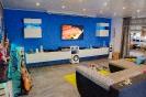 Wohnzimmer Renovierung mit Fliesen, Trockenbau und Vertäfelung_3
